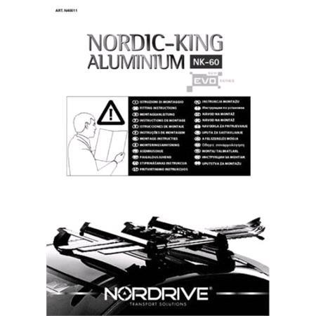 Nordic King EVO aluminium NK 60