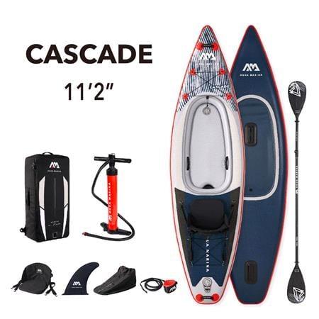"Aqua Marina Cascade (2021) 11'2"" SUP Paddle Board Kayak Hybrid"