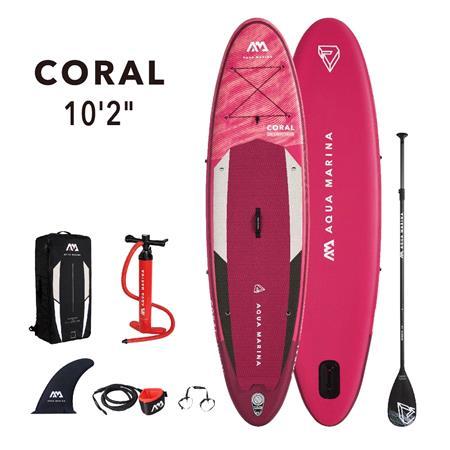 "Aqua Marina Coral (2021) 10'2"" SUP Paddle Board"