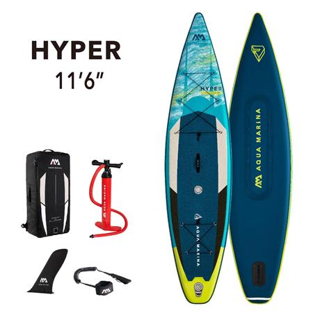 "Aqua Marina Hyper (2021) 11'6"" SUP Paddle Board"