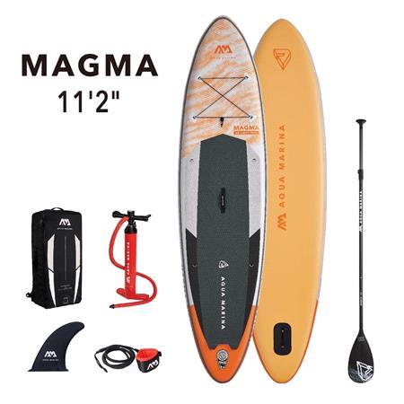 """Aqua Marina Magma (2021) 11'2"""" SUP Paddle Board"""