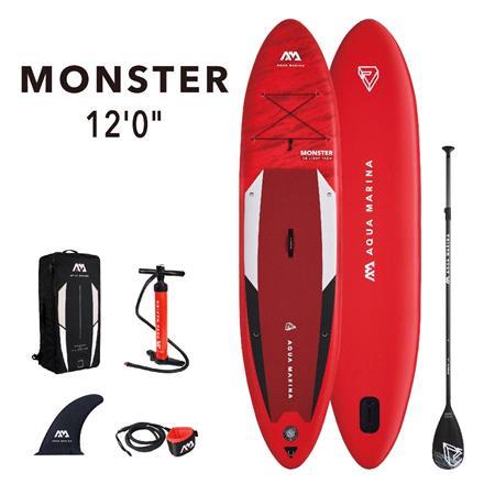 "Aqua Marina Monster (2021) 12'0"" SUP Paddle Board"