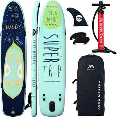 """Aqua Marina Super Trip (2020) 12'2"""" Family SUP Paddle Board"""