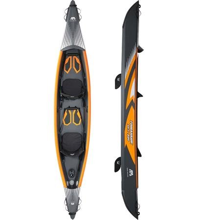 """Aqua Marina Tomahawk AIR K 440   14'5"""" (2 Person) DWF High End Canoe"""