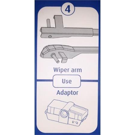 Bremen Vision 20 Inch (500mm) Multi Clip Beam Blade Wiper blade