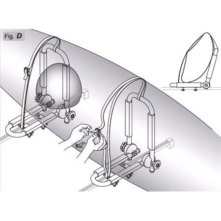 Peruzzo Porta Kayak/ Windsurf Carrier