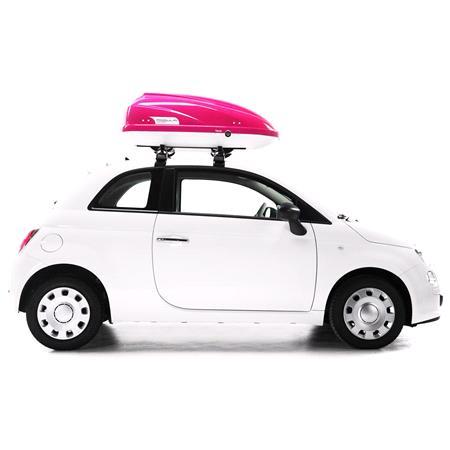 Travel Sport 370L Pink Roof Box