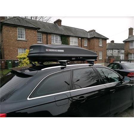 Nordrive 430L Black Graphite Roof Box