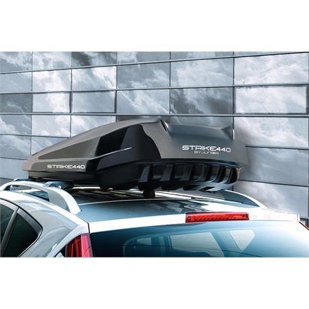 Junior Strike 440 Roof Box   Glossy Black   440L