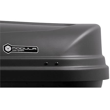 WEGO 450L Anthracite Roof Box, Dual Side Opening