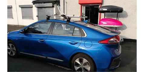 Hyundai Ioniq Roof Bars & Bike Rack