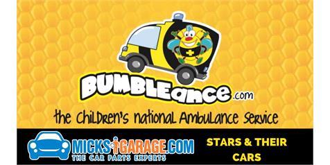 MicksGarage Stars & Their Cars in Aid of BUMBLEance