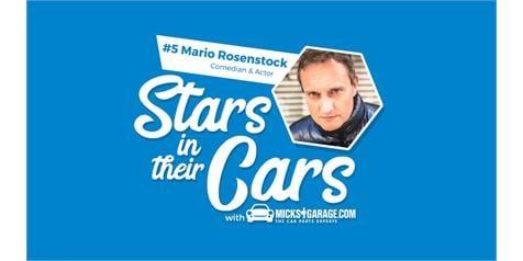 MickGarage Stars and their cars: Mario Rosenstock