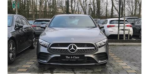 Buying a New Car – Mercedes-Benz A-Class AMG Line