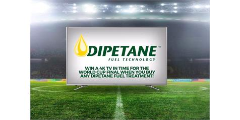 Win A Brand New TV With Dipetane!