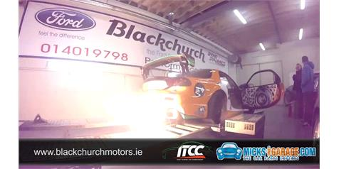 Flame Throwing Naturally Aspirated Mazda RX7 13B PP On The Dyno