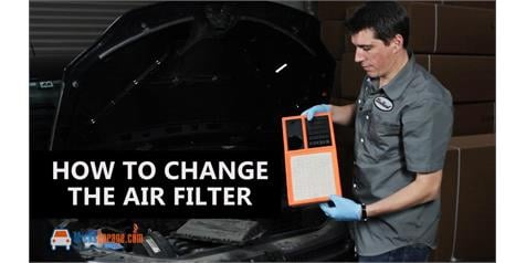 How To Check and Change Engine Air Filter