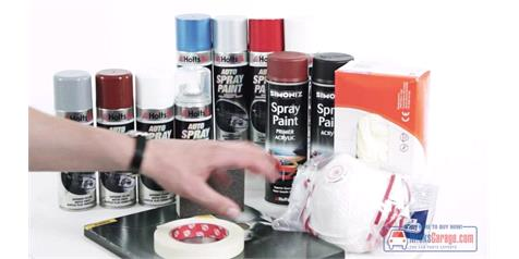How To Spray Paint With Aerosols