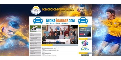 MicksGarage.com Sponsor Knockmore GAA
