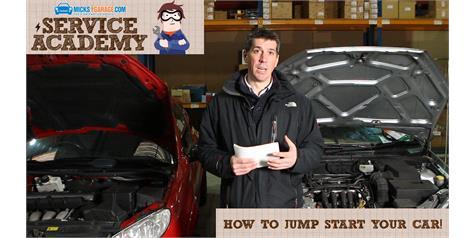 MicksGarage Service Academy: How To Jump Start Your Car