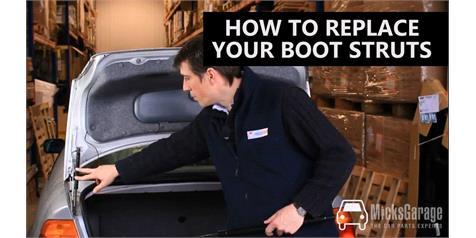Replacing Boot Struts / Gas Springs