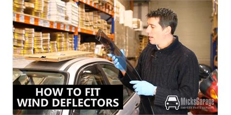 Wind Deflectors Buying & Fitting Guide