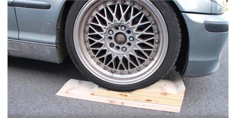 How to make your own DIY car ramps: