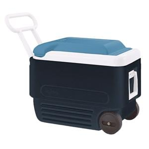 Cooler Boxes, Maxcold 40 Roller - 2016 Model - Blue, IGLOO