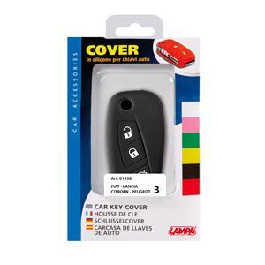Car Key Covers, Car Key Cover - Citroen, Fiat, Lancia, Peugeot (Key type 3), Lampa