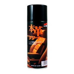 Soft99, Soft99 Leather Seat Cleaning Mousse with Vitamin E - 300ml, Soft99