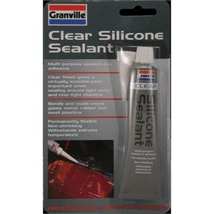 Maintenance, Silicone Sealant - Clear - 40g, Granville