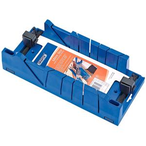 Mitre Boxes and Jigs, Draper Expert 09789 Mitre Box with Clamping Facility 367mm x 116mm x 70mm, Draper
