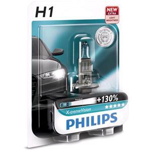 Bulbs - by Bulb Type, Philips X-tremeVision H1  Bulb  - Single , Philips