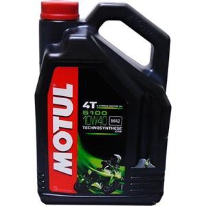 Engine Oils and Lubricants, MOTUL Motorbike Engine Oil 5100 10W-40 4T - 5 Litres, MOTUL