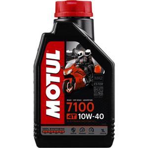 Engine Oils and Lubricants, MOTUL Motorbike Engine Oil 7100 10W-40 4T - 1 Litre, MOTUL