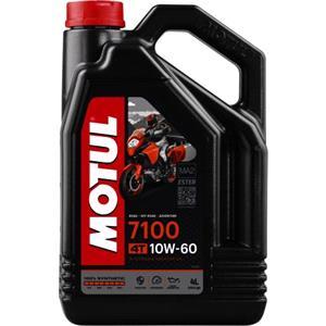 Engine Oils and Lubricants, MOTUL Motorbike Engine Oil 7100 10W-60 4T - 4 Litre, MOTUL