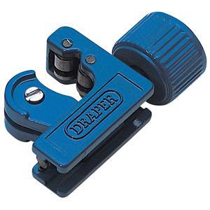 Metal Pipe Cutting, Draper 10579 3 - 22mm Capacity Mini Tubing Cutter, Draper