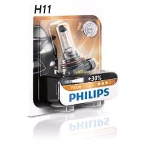 Bulbs - by Bulb Type, Philips 12V H11 55W Bulb - Single Bulb, Philips