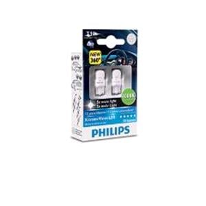 Bulbs - by Bulb Type, Philips X-tremeultinon LED LED-T10 (W5W)  Bulb  - Twin Pack, Philips