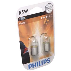 Bulbs - by Vehicle Model, Philips R5W Brake Light Bulbs(Pair) for Opel Corsa 2000 2003, Philips