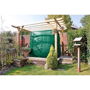 Garden Furniture Accessories, Draper 12917 Three Seat Swing Seat-Hammock Seat Cover (2260 x 1450 x 2180mm), Draper