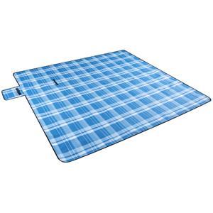 Garden Furniture Accessories, Walser Travel and Garden Picnic Blanket - Blue Square, Walser