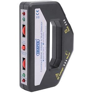 Testers and Detectors, Draper 13818 Combined Metal, Voltage and Stud Detector, Draper