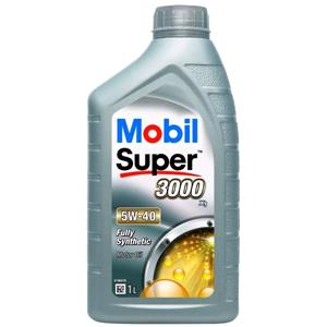 Engine Oils and Lubricants, Mobil Super 3000 X1 5W-40 Fully Synthetic Engine Oil - 1 Litre, MOBIL