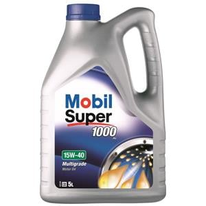Engine Oils and Lubricants, Mobil Super 1000 X1 15W-40 Mineral Engine Oil - 5 Litre, MOBIL