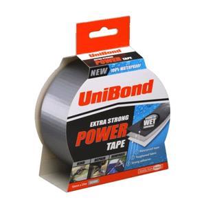 Tapes, unibond Powertape - Silver - 50mm X 25m, UNIBOND
