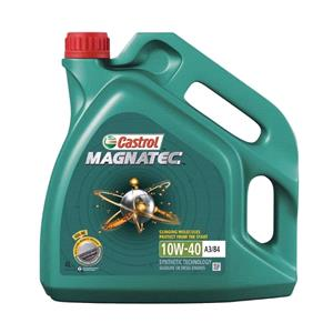 Engine Oils and Lubricants, Castrol Magnatec 10W-40 A3-B4 Semi Synthetic Engine Oil - 4 Litre, Castrol