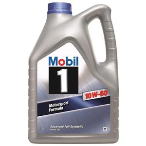 Engine Oils and Lubricants, Mobil 1 10W-60 Advanced Fully Synthetic Engine Oil - 5 Litre, MOBIL