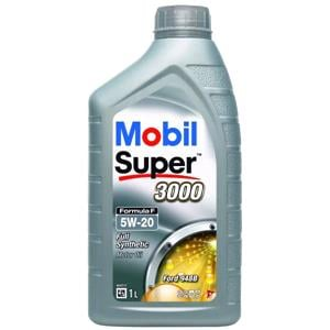 Engine Oils and Lubricants, Mobil Super 3000 Formula F 5W-20 Fully Synthetic Engine Oil - 1 Litre, MOBIL