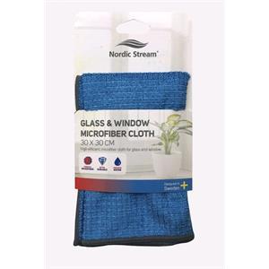 Cloths, Nordic Stream Glass & Window Microfibre Cloth, Nordic Stream